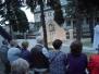 Nabożeństwo majowe przy grocie NMP z Lourdes